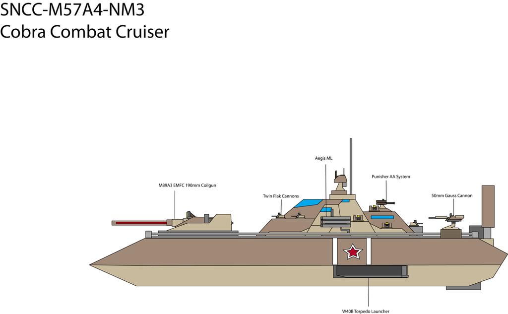 IRSN Cobra Combat Cruiser by Target21