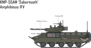 IRS KMP-55AM Sabertooth IFV by Target21
