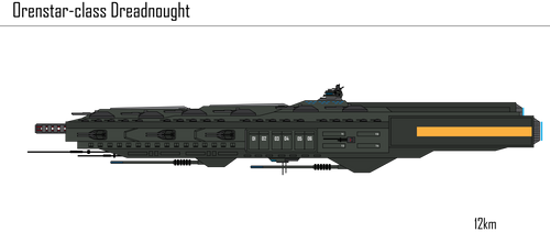 IRS Orenstar-class Dreadnought by Target21