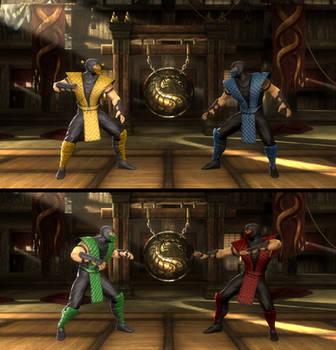 Mortal Kombat 9 2011 Komplete Edition PC mods by DeathColdUA