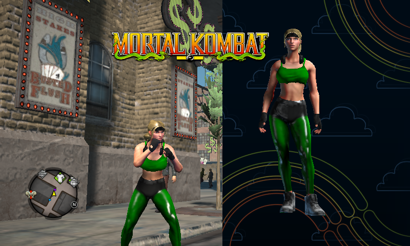 Saints Row 4 Sonya From Mortal Kombat 1 By Deathcoldua On