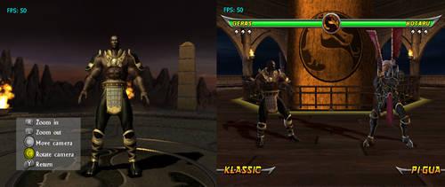 Mortal Kombat Armageddon Kreate a Fighter by DeathColdUA on