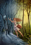 Enchanted forest by Vesea