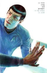 Live Long And Prosper by Vesea