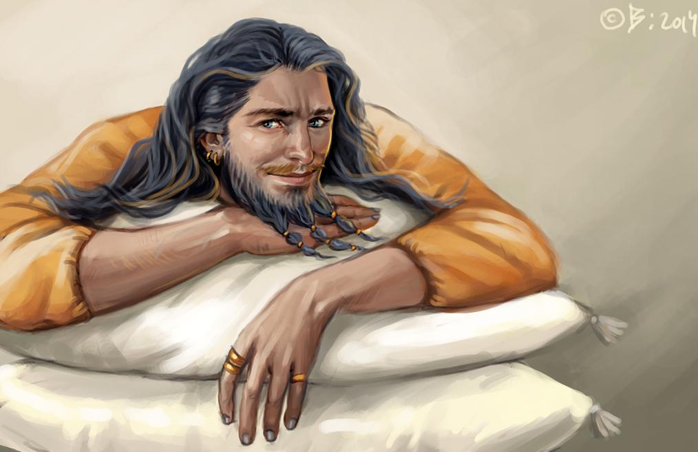 Daario Naharis by Vesea on DeviantArt Daario Naharis Fan Art