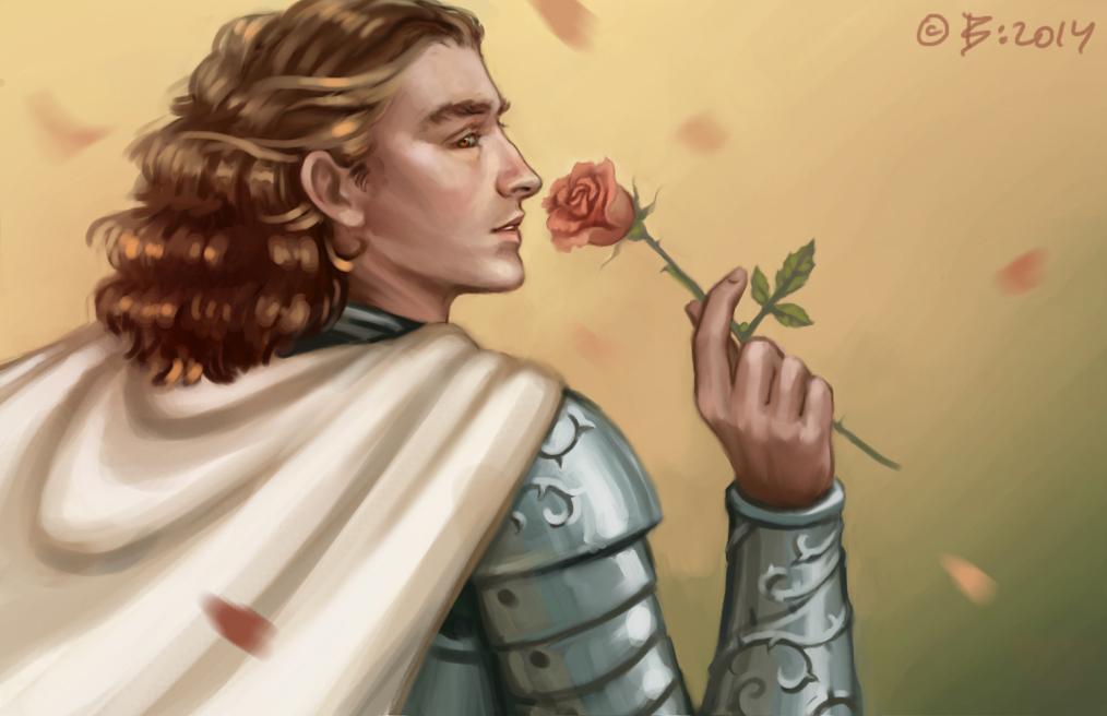 Loras Tyrell by Vesea
