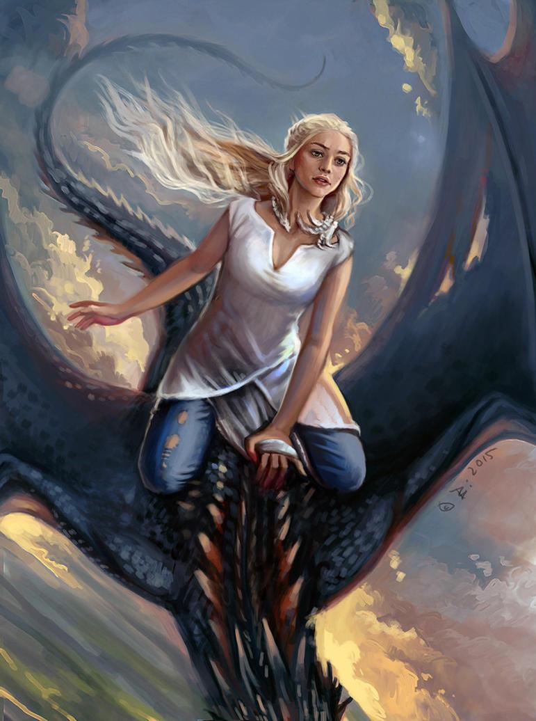 Daenerys by Vesea