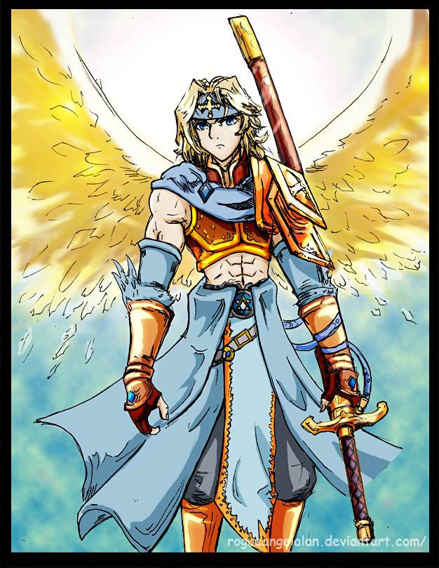 2010_01_12 Archangel Gabriel by RogueAngelAlan on DeviantArt
