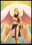 2013 03 24 Flame of God by RogueAngelAlan