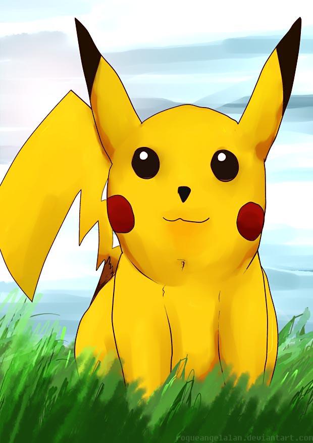 2014 08 17 Pikachu by RogueAngelAlan