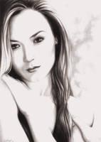 Becky -self portrait- by rebekahlynn
