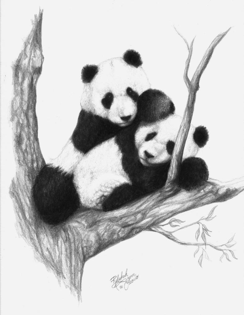 Pandas by rebekahlynn