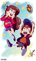Gravity Falls by dahae1014