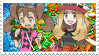 Boutiqueshipping (Serena x Shauna) Stamp by misawafujisaki-stamp