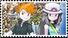 Conflictingshipping (Blue x Leaf) Stamp by misawafujisaki-stamp
