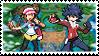Sequelshipping (Hugh x Rosa) Stamp by misawafujisaki-stamp