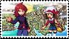 SoulSilvershipping (Silver x Lyra) Stamp by misawafujisaki-stamp