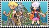 Twinleafshipping (Barry x Dawn) Stamp by misawafujisaki-stamp