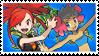 Cremateshipping (Flannery x Phoebe) Stamp [ORAS] by misawafujisaki-stamp