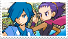 Fatherlyshipping (Falkner x Janine) Stamp [HGSS] by misawafujisaki-stamp