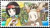 Ikebanashipping (Erika x Jasmine) Stamp (HGSS) by misawafujisaki-stamp
