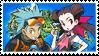 RockSmashshipping (Brawly x Roxanne) Stamp [ORAS] by misawafujisaki-stamp