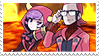Authorityshipping (Maxie x Courtney) Stamp by misawafujisaki-stamp