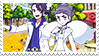 Gentryshipping (Sycamore x Diantha) Stamp by misawafujisaki-stamp