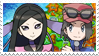 FairyPrinceshipping (Calem x Valerie) Stamp by misawafujisaki-stamp
