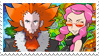 BeautifulWorldshipping (Lysandre x Malva) Stamp by misawafujisaki-stamp