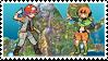 Mossshipping (Roark x Gardenia) Stamp by misawafujisaki-stamp