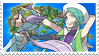 Gracefulshipping (Wallace x Winona) Stamp by misawafujisaki-stamp