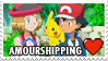 Amourshipping (Ash x Serena) Stamp