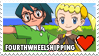 FourthWheelshipping (Max x Bonnie) Stamp by misawafujisaki-stamp