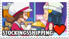 Stockingsshipping (Dawn x Lyra) Stamp by misawafujisaki-stamp