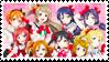 Love Live: School Idol Project Fan Stamp by misawafujisaki-stamp