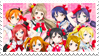 Love Live: School Idol Project Fan Stamp by misawafujisaki-stamp