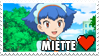 Miette Fan Stamp by misawafujisaki-stamp