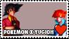 Pokemon x Yugioh Fan Stamp by misawafujisaki-stamp