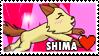 Shima Fan Stamp by misawafujisaki-stamp