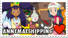 Annemaeshipping (Iris x Dawn) Stamp by misawafujisaki-stamp
