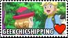 GeekChicshipping (Clemont x Serena) Stamp by misawafujisaki-stamp