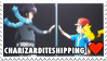 Charizarditeshipping (Alain x Ash) Stamp by misawafujisaki-stamp
