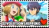 XEvolutionshipping (Alain x Serena) Stamp by misawafujisaki-stamp