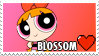 Blossom Fan Stamp by misawafujisaki-stamp
