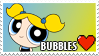Bubbles Fan Stamp by misawafujisaki-stamp