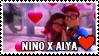 Nino x Alya Stamp