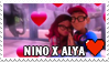 Nino x Alya Stamp by misawafujisaki-stamp