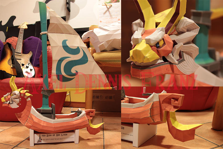 King of Red Lions - TLOZ:The Wind Waker Papercraft