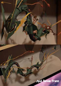 Mega Rayquaza Papercraft